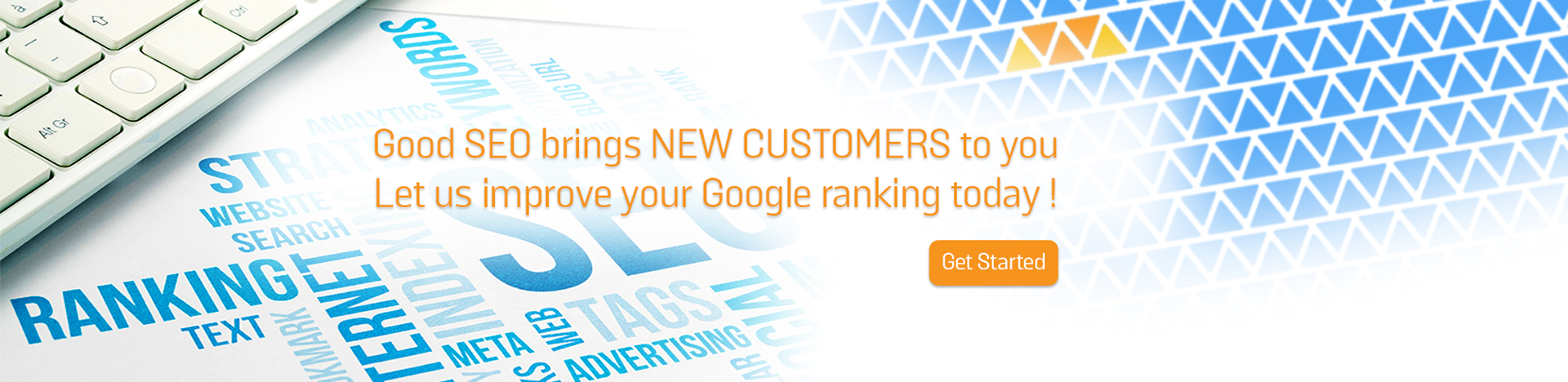 Good SEO brings new customers to you.