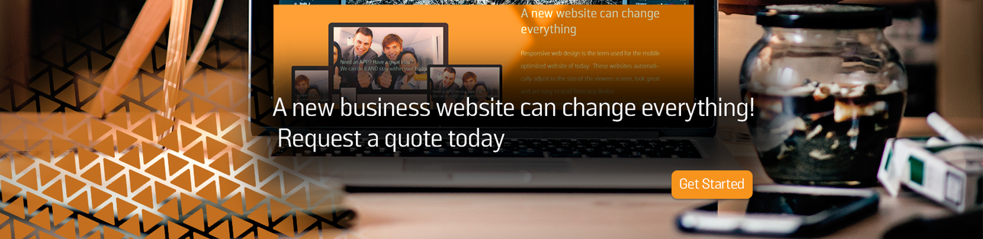 A new business website can change everything.